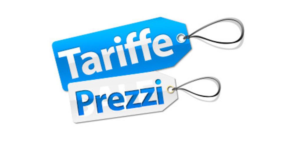 Tariffe prezzi