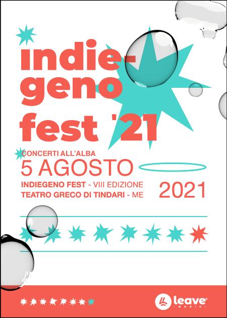 Indiegeno Fest 2021 - Alba al Teatro di Tindari - Carmen Consoli , Gaudiano + More TBA