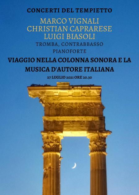 Viaggio nella colonna sonora e la musica d'autore italiana