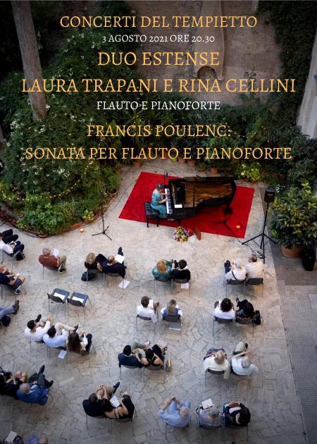 FRANCIS POULENC: SONATA PER FLAUTO E PIANOFORTE