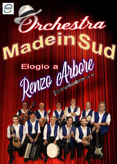 Orchestra Made in Sud, elogio a Enzo Arbore