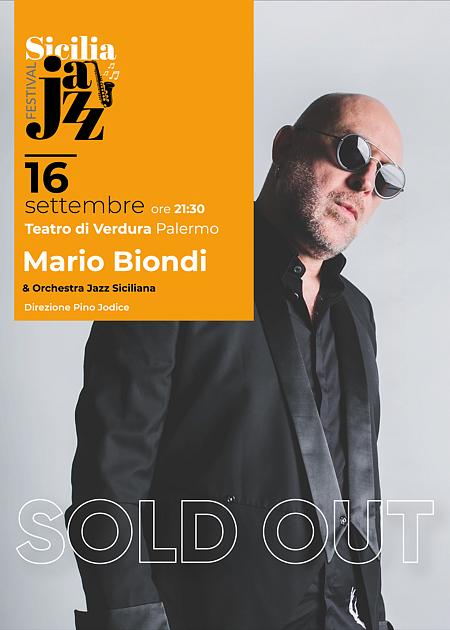 Mario Biondi & Orchestra Jazz Siciliana direzione Pino Jodice