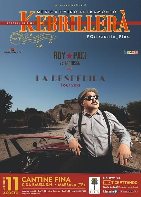 Roy Paci e Aretuska - La despedida tour 2021
