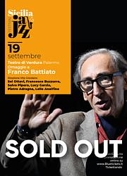 Omaggio a Franco Battiato, direzione Vito Giordano