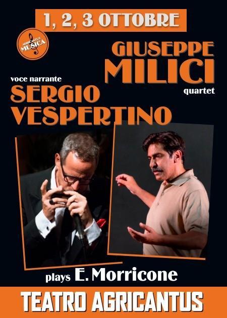 Giuseppe Milici Quartet plays E.Morricone