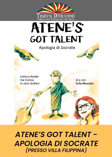 Atene's got talent - Apologia di Socrate