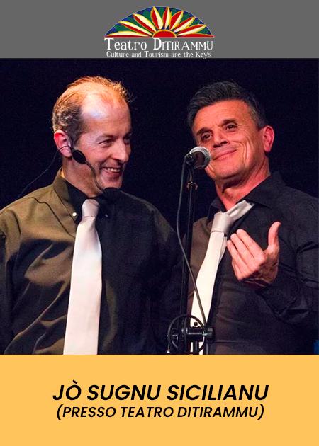 Jò Sugnu Sicilianu - Percorso poetico musicale sulla Sicilia che cambia