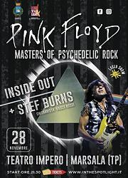 Pink Floyd Masters of Psychedelic Rock - Inside Out + Stef Burns