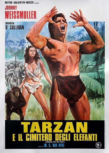 TARZAN L'UOMO SCIMMIA