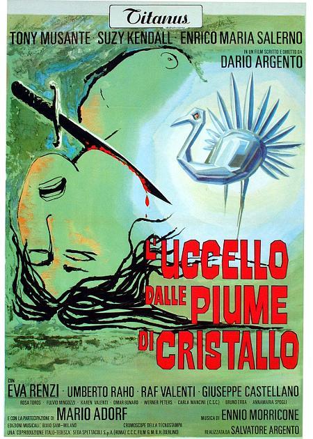 L'UCCELLO DALLE PIUME DI CRISTALLO (RIED.)