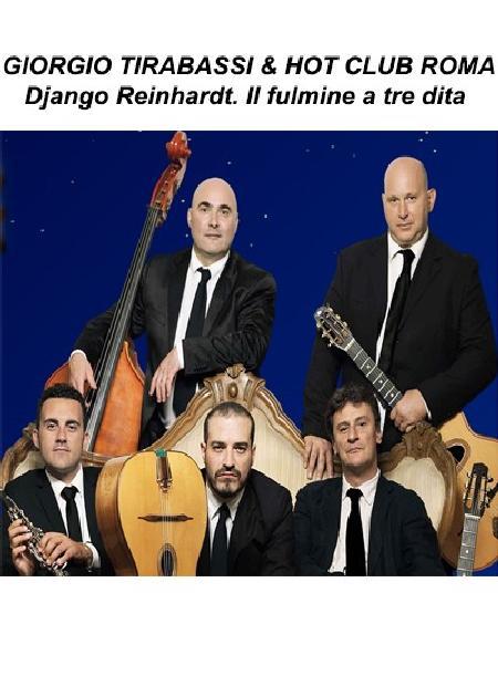 GIORGIO TIRABASSI & HOT CLUB ROMA  - Django Reinhardt. Il fulmine a tre dita