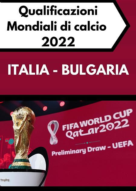 MONDIALI 2022 ITALIA - BULGARIA