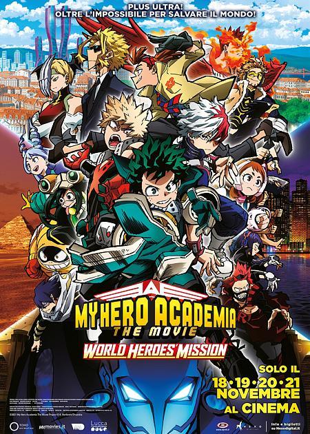 MY HERO ACADEMIA THE MOVIE - WORLD HEROES MISSION