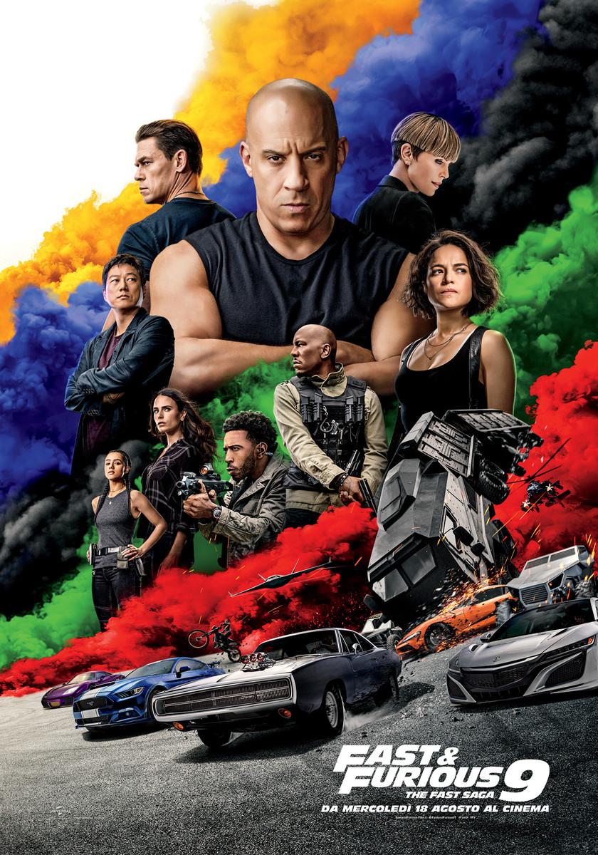 Fast&Furious9 - in uscita al cinema il 18 agosto