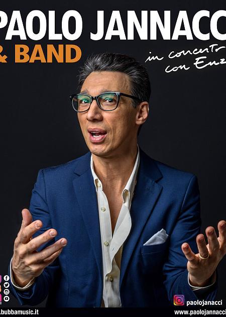 PAOLO JANNACCI & Band - In concerto con Enzo