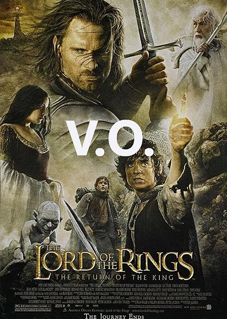 THE LORD OF THE RINGS: THE RETURN OF THE KING - ORIGINAL LANGUAGE