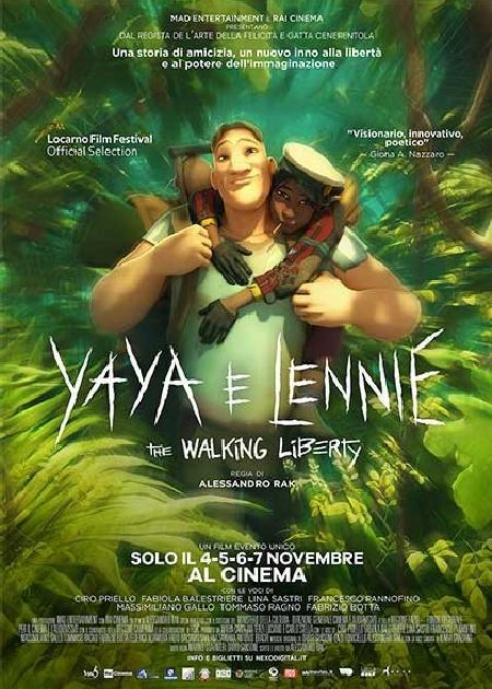 YAYA E LENNIE - THE WALKING LIBERTY