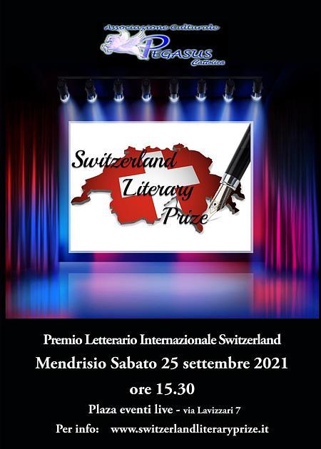 Premio Letterario Internazionale Svizzero 1a edizione