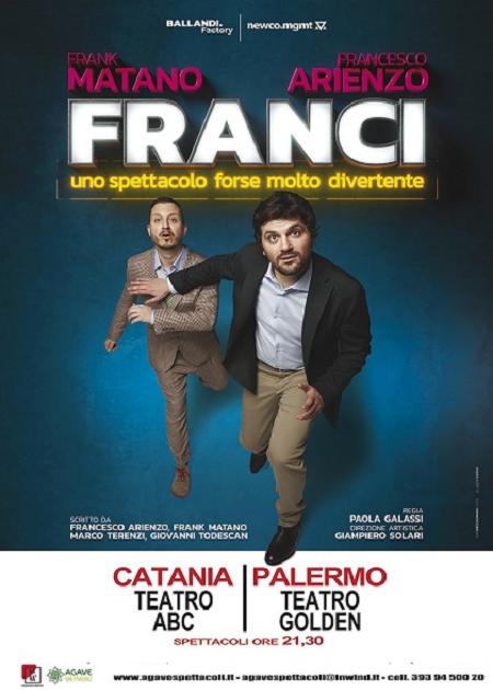 Frank Matano e Francesco Arienzo in FRANCI